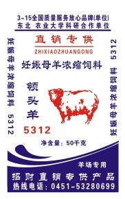 5312妊娠母羊浓缩(50KG)